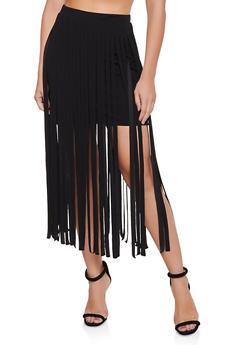 Fringe Skirt - 1062062122052