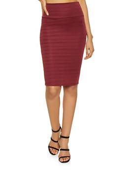 Bandage Pencil Skirt - 1062062415130