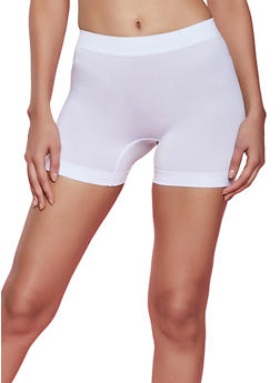 Solid Bike Shorts - 1068035160493