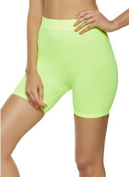 Neon Bike Shorts - 1068041454460