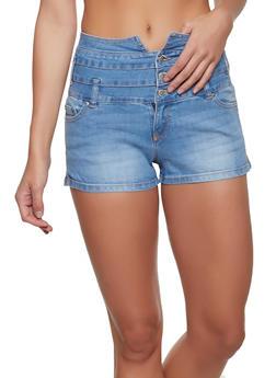 cbfac9410c Highway 3 Button High Waisted Shorts - 1070071315100