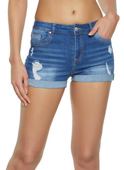womens jean shorts on sale