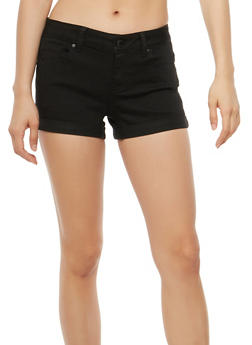 WAX Push Up Jean Shorts - 1070071619226