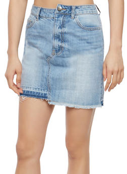 Cello Denim Mini Skirt - 1071063155993