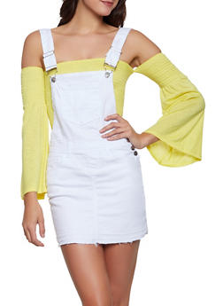 Denim Overall Dress - 1071072290001
