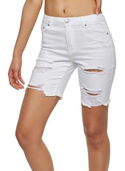 Almost Famous Denim Bermuda Shorts - 1072015995131