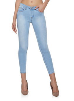 Almost Famous Push Up Skinny Jeans - 1074015990140