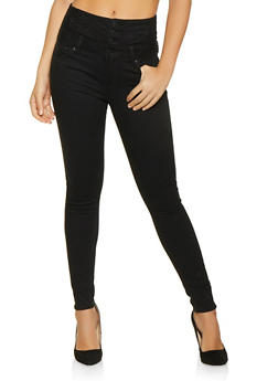 Almost Famous High Waisted Jeans - 1074015990268