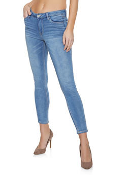 Almost Famous Whisker Wash Jeans - 1074015991500