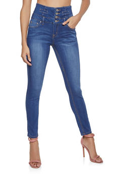 Almost Famous High Waisted Jeans - 1074015996816