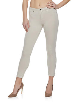 Fixed Cuff Jeggings - 1074056570015