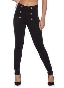 Ponte Sailor Pants - 1074056574522