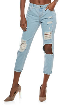 Cello Destroyed Jeans - 1074063153709