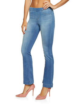 Cello Flared Pull On Jeans - 1074063155325