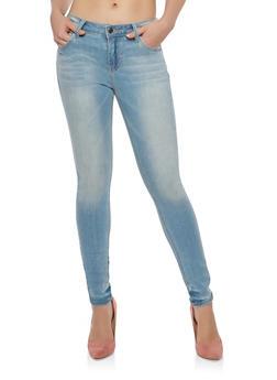 Cello Light Wash Skinny Jeans - 1074063156047