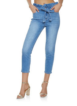 Cello Paper Bag Waist Jeans - 1074063156227