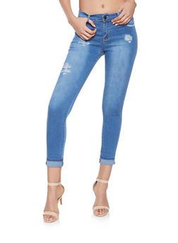 Distressed Skinny Jeans - 1074063401428