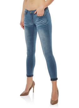 VIP Light Wash Skinny Jeans - 1074065300399