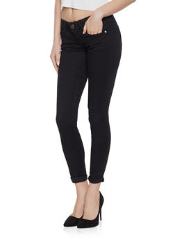 VIP Push Up Skinny Jeans | Black - 1074065301015