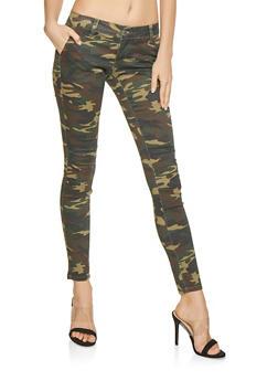 VIP Camo Skinny Jeans - 1074065301844