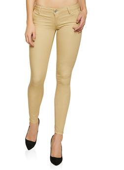 Solid Khaki Pants - 1074065301846