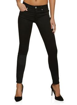 VIP Black Basic Push Up Skinny Jeans - 1074065301911