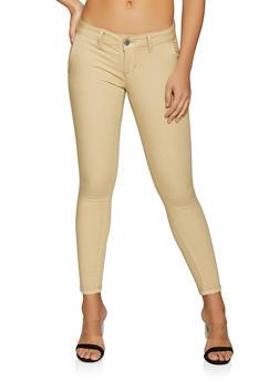 Skinny Khaki Pants - 1074065302730