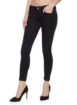 VIP Black Push Up Skinny Jeans - 1074065302731