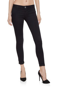 Solid Skinny Pants - 1074065302846