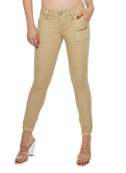 VIP Jeans Colored Jogger Pants - KHAKI - 1074065302953
