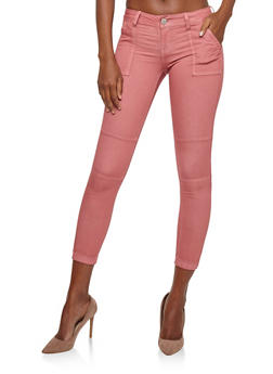 VIP Jeans Colored Jogger Pants - MAUVE - 1074065302953