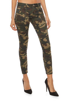 VIP Jeans Colored Jogger Pants - CAMOUFLAGE - 1074065302953