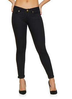 Push Up Skinny Pants - 1074065303155