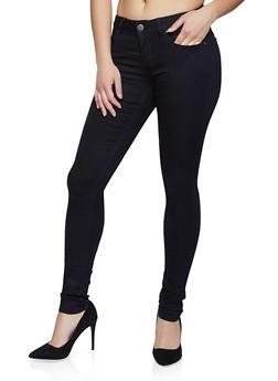 VIP Black Basic Skinny Jeans - 1074065303175