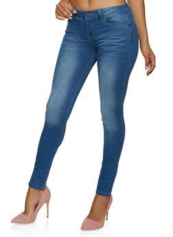 VIP Basic Whiskered Skinny Jeans - 1074065304938