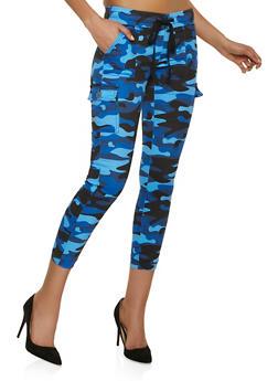 Blue Camo Joggers - 1074065306767