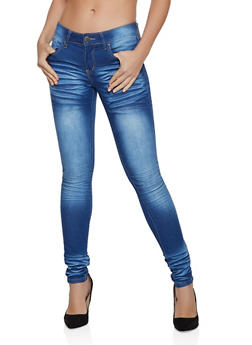 VIP Whisker Wash Skinny Jeans | 1074065307058 - 1074065307058