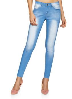 VIP Cloud Wash Push Up Jeans - 1074065307553