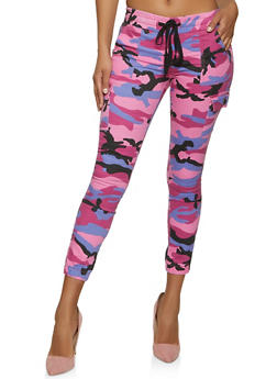 VIP Pink Camo Cargo Joggers - 1074065307608