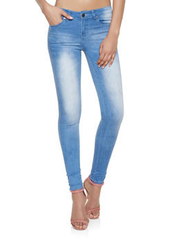 VIP Light Midrise Skinny Jeans - 1074065307651