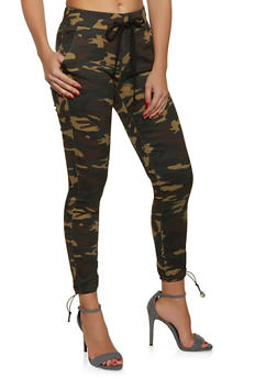 VIP Camouflage Cargo Joggers - 1074065308022