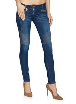 VIP Push Up Moto Jeans - 1074065308178
