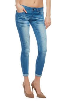 VIP Whisker Wash Skinny Jeans - 1074065309111