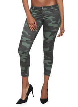 VIP Camo Push Up Denim Joggers - 1074065309532