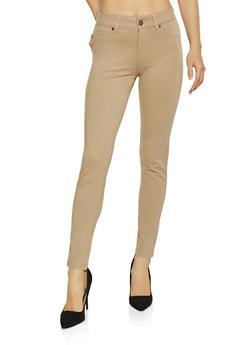 Skinny Ponte Pants - 1074068191195