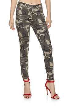 Camo Jeggings - 1074068193130