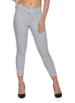 Plaid Dress Pants - 1074068193309
