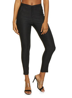 High Waisted Stretch Pants - 1074068193310