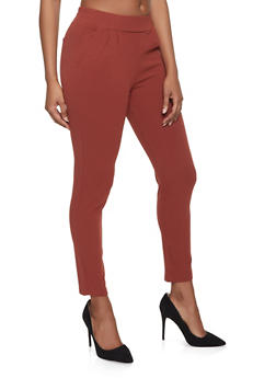 Crepe Knit Dress Pants - 1074068199790