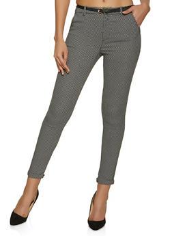 Jacquard Dress Pants - 1074069397681